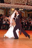 Domen Krapez & Monica Nigro at Blackpool Dance Festival 2004