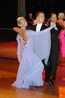 Domen Krapez & Monica Nigro at English Open Championships