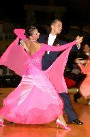 Domen Krapez & Monica Nigro at Dutch Open 2007