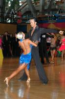 Andrew Cuerden & Hanna Haarala at Crystal Palace Cup 2005