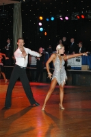 Andrew Cuerden & Hanna Haarala at English Open Championships