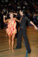 Andrew Cuerden & Hanna Haarala at International Championships 2005