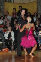 Andrew Cuerden & Hanna Haarala at Dutch Open 2007