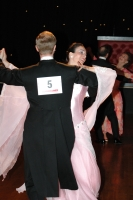 James Barron & Rachel Barron at English Open Championships
