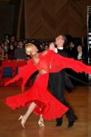 Andrea Ghigiarelli & Sara Andracchio at UK Open 2005