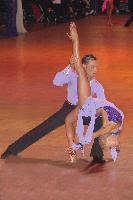 Jesper Birkehoj & Anna Anastasiya Kravchenko at Blackpool Dance Festival 2004