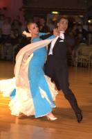 Daniele Gallaro & Kimberly Taylor at Dutch Open 2004