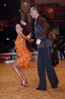 Sergey Sourkov & Agnieszka Melnicka at World Masters 2007