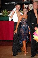 Evgeni Smagin & Rachael Heron at Blackpool Dance Festival 2004