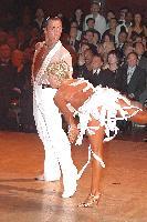 Michal Malitowski & Joanna Leunis at Blackpool Dance Festival 2004