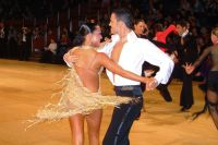 Emanuele Soldi & Elisa Nasato at UK Open 2004