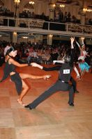 Michael Glikman & Milana Deitch at Blackpool Dance Festival 2005