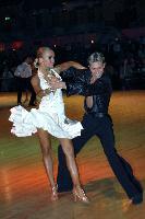 Kirill Belorukov & Elvira Skrylnikova at Dutch Open 2007