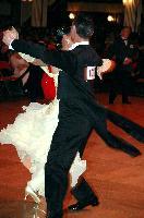 Luca Rossignoli & Veronika Haller at Blackpool Dance Festival 2004