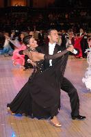 Luca Rossignoli & Veronika Haller at The International Championships