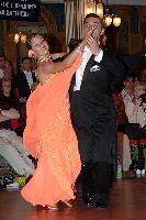 Grant Barratt-thompson & Mary Paterson at Blackpool Dance Festival 2004