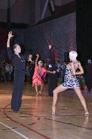 Andre Paramonov & Natalie Paramonov at The International Championships