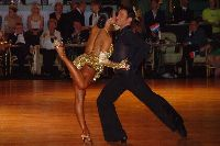 Darren Bennett & Lilia Kopylova at Dutch Open 2003