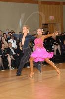 Kamil Studenny & Kateryna Trubina at Snowball Classic 2007
